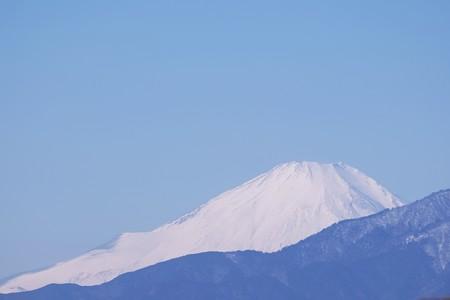 2019.02.02 駅前 富士山