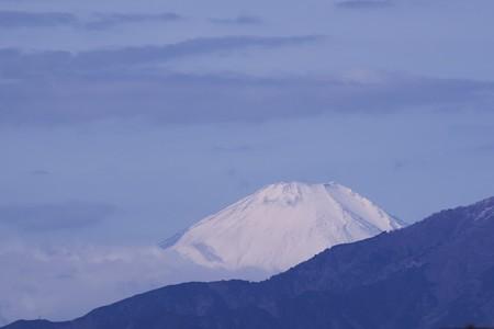2019.02.10 駅前 富士山