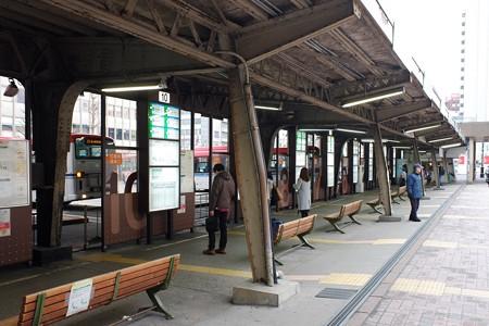 2019.03.22 新潟駅前 バスターミナル