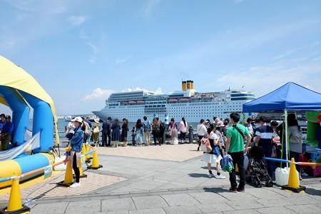 2019.05.05 赤レンガ倉庫 対岸の客船