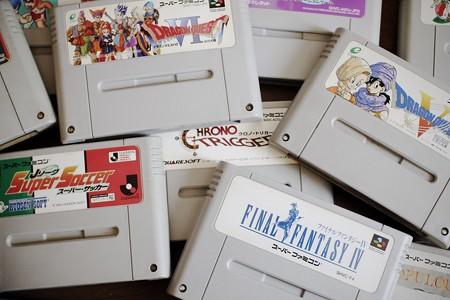 2019.05.23 机 SUPER Famicom ゲームカセット