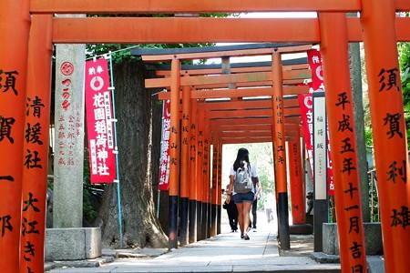 2019.05.30 上野公園 花園稲荷神社 稲荷坂