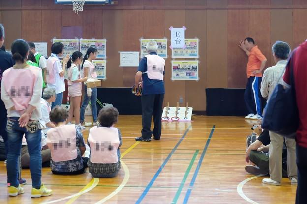 2019.06.16 小学校 輪投げ大会 老若男女