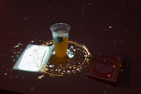 2019.07.08 赤レンガ倉庫 #カンパイ展 インタラクティブ・テーブル