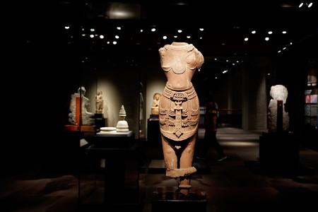 2019.08.20 東京国立博物館 男神立像 インド・カジュラーホ TC-463