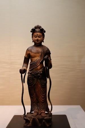 2019.08.20 東京国立博物館 文殊菩薩立像 C-23
