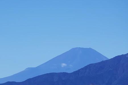 2019.10.13 駅前 富士山 台風一過