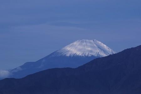 2019.10.26 駅前 富士山