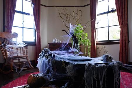 2019.10.26 外交官の家 2Fサンルーム Halloween飾り
