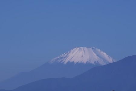 2019.11.06 駅前 富士の見え始める頃