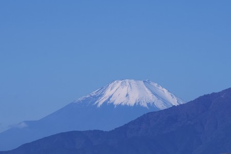 2019.11.10 駅前 富士山