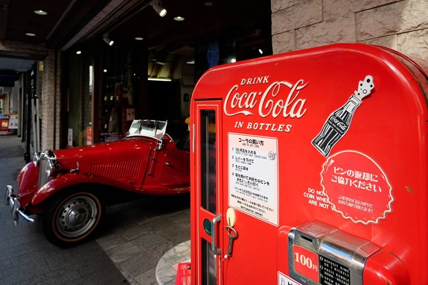 2019.11.16 元町 Coca-Cola販売器