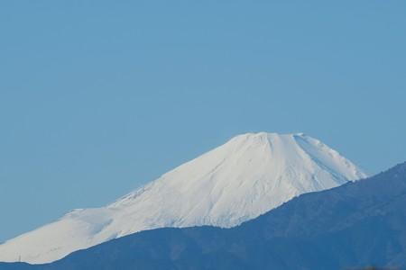 2019.11.30 駅前 富士山