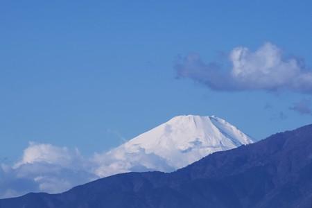 2019.12.03 駅前 富士山