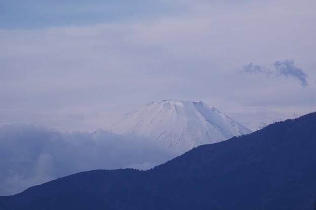 2019.12.06 駅前 富士山
