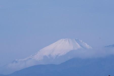 2019.12.11 駅前 富士山