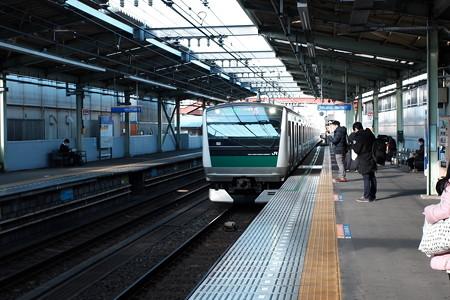 2019.12.29 駅 横浜へ
