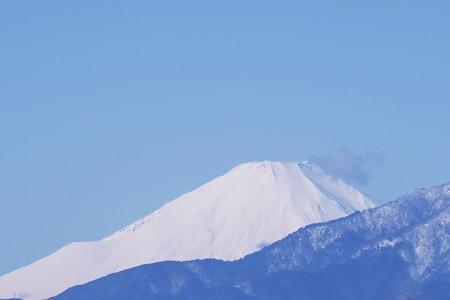 2020.01.19 駅前 富士山