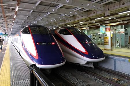 2020.01.23 新庄駅 つばさ二両