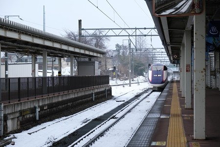 2020.01.23 大石田駅 つばさ131号