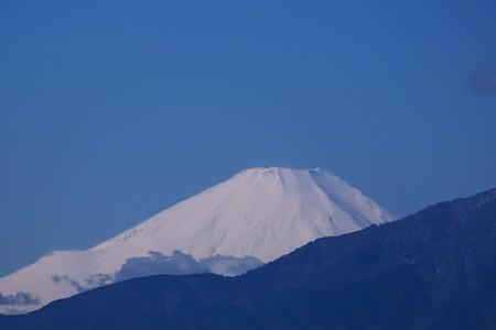 2020.01.30 駅前 富士山