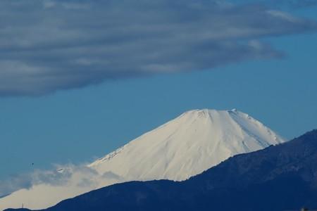 2020.02.01 駅前 富士山