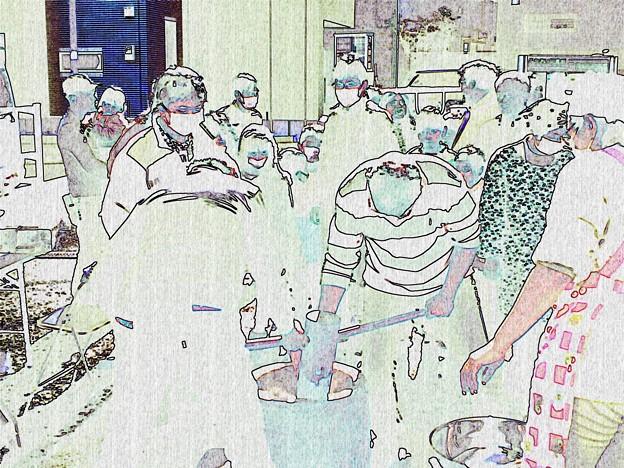 2020.02.02 町内会 餅つき