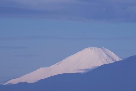 2020.02.12 駅前 富士山