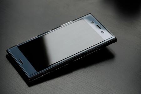 2020.03.30 机 Xperia XZ1 ハードケース クリア