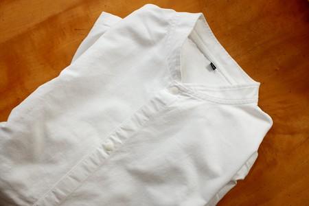 2020.06.29 無印良品 白いシャツ ¥1,490