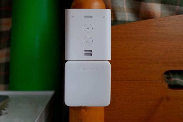 2020.09.07 机 SwitchBot ハブミニ+Amazon Echo Flex
