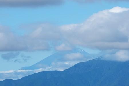 2020.10.12 駅前 富士山