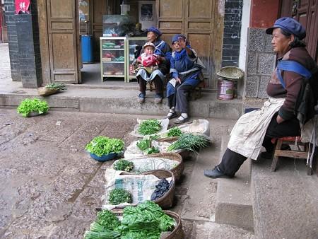 2007.4.27 雲南省 白沙村 軒先