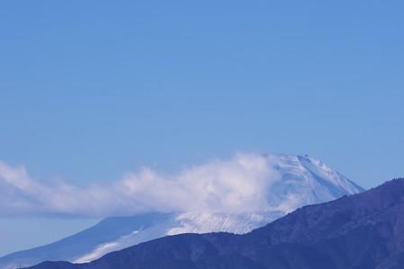 2020.12.17 駅前 富士山