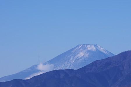 2020.12.20 駅前 富士山