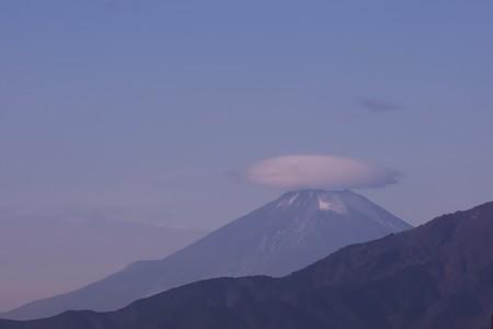 2020.12.24 駅前 富士山