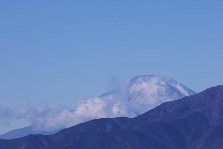 2021.01.08 駅前 富士山