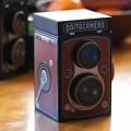 Photos: 2021.01.08 居間 KALDI オリジナル レフレックスカメラ缶チョコレート 赤