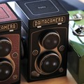 Photos: 2021.01.08 居間 KALDI オリジナル レフレックスカメラ缶チョコレート