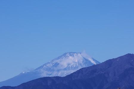 2021.01.09 駅前 富士山