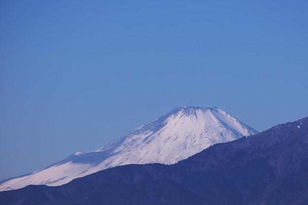 2021.01.13 駅前 富士山