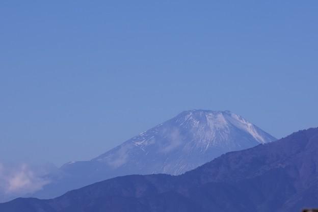 2021.01.19 駅前 富士山