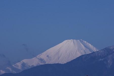 2021.01.25 駅前 富士山