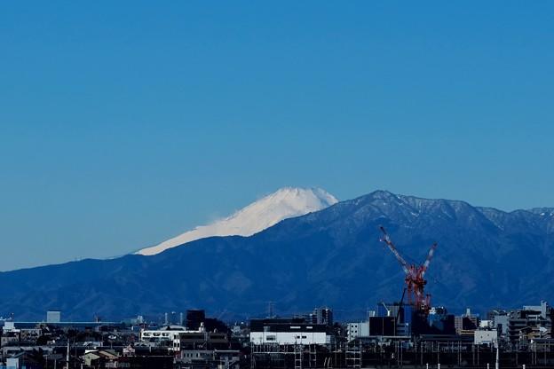 Photos: 2021.01.30 駅近 富士山