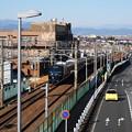 Photos: 2021.01.31 駅前 宮ヶ瀬ダムの見える朝