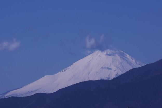 2021.02.16 駅前 富士山