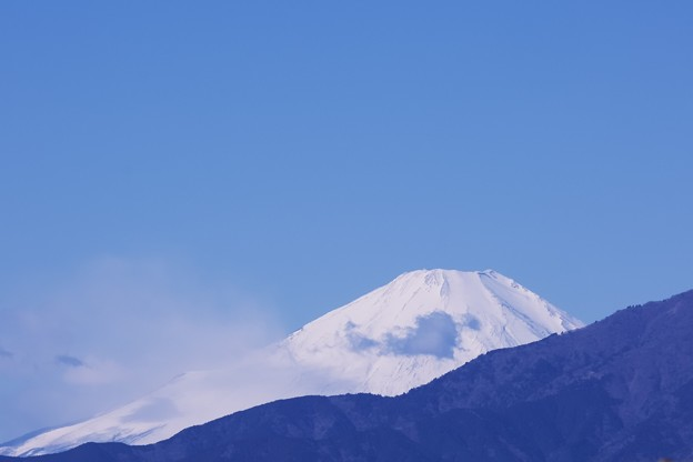 2021.02.18 駅前 富士山