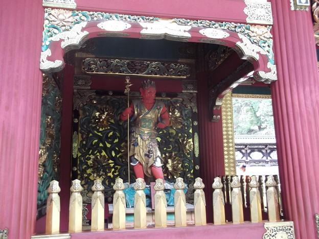 「毘陀羅・びだら」(赤色)「南の方角を守護」