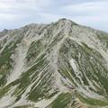 浄土山付近から、雄山を望む 15:34