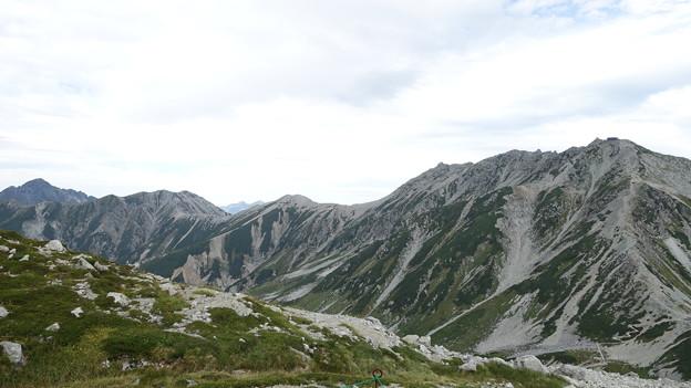 浄土山からの眺望 立山三山がつながった! 15:45